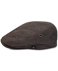 Sean John Men's Textured Adjustable Ivy Hat, Created for Macy's