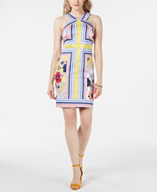 Laundry by Shelli Segal Printed Shift Dress