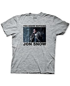 Game of Thrones Men's Jon Snow Men's Graphic T-Shirt
