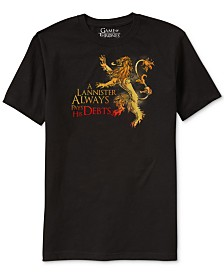Game of Thrones Lannister Men's Graphic T-Shirt