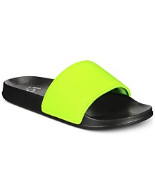 Ideology Men's Falon Slide Sandals, Created for Macy's