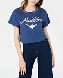 Disney Juniors' Aladdin Graphic T-Shirt by Freeze 24-7
