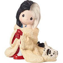 Disney Showcase Collection You're Such A Dahling Cruella De Vil Bisque Porcelain Figurine 183071