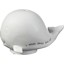 I Whale Always Love You Whale Ceramic LED Essential Oil Diffuser and Night Light 183405