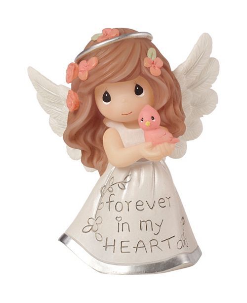 Precious Moments Inspirational Angels Forever In My Heart Resin Figurine 183428