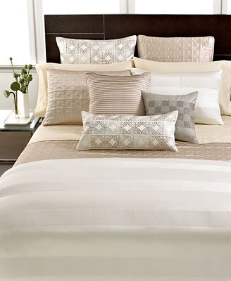 CLOSEOUT! Hotel Collection Woven Cord Bedding Collection, Only at Macy's