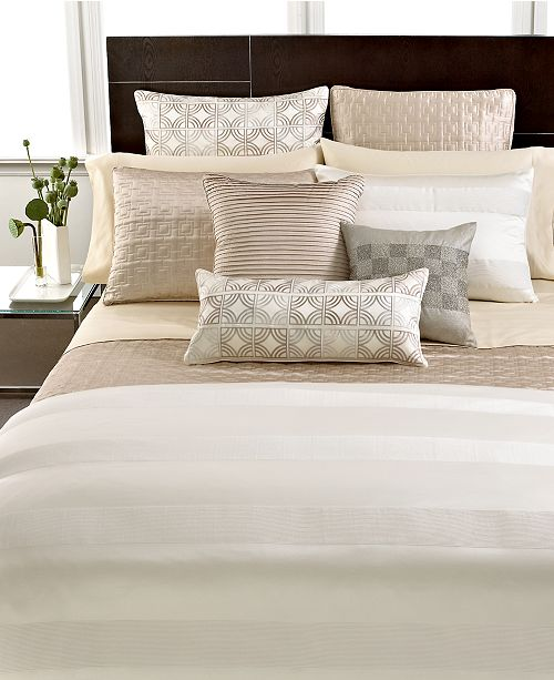 Hotel Collection CLOSEOUT!  Woven Cord King Quilted Coverlet