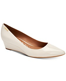 Calvin Klein Women's Germina Wedge Pumps