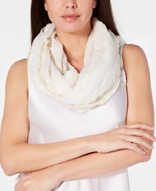 I.N.C. Embroidered Spring Loop Scarf, Created for Macy's
