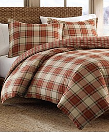 Edgewood Plaid Multi Comforter Set, Full/Queen