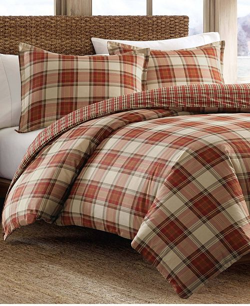 Eddie Bauer Edgewood Plaid Multi Comforter Set, Twin