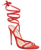 f66686ab52cf Steve Madden Women s Amberlyn Tie-Up Dress Sandals
