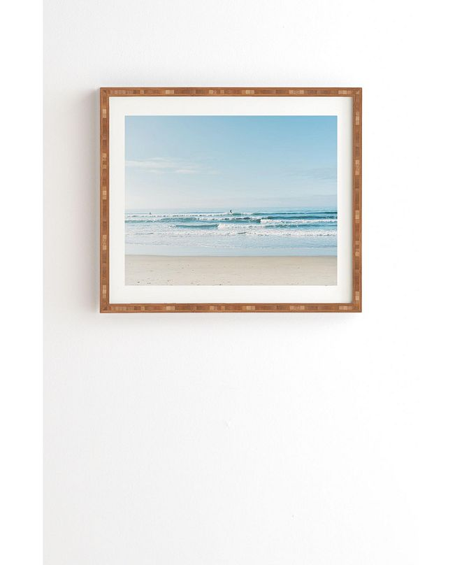Deny Designs California Surfing Framed Wall Art