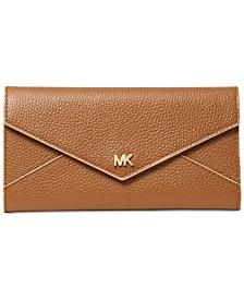 MICHAEL Michael Kors Slim Envelope Trifold Leather Wallet