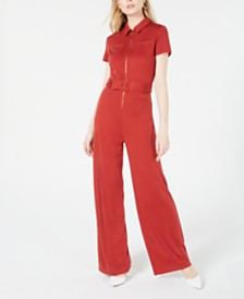 House of Polly Zip-Up Jumpsuit