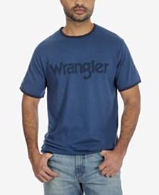 Wrangler Men's Contrast-Trim Logo T-Shirt