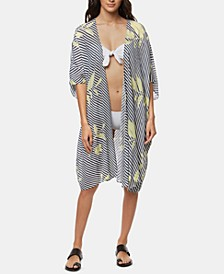 Juniors' Kimberly Kimono Cover-Up
