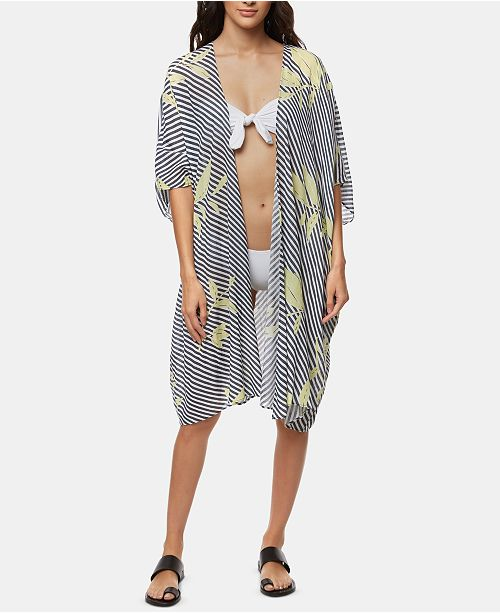 efdb6456f O'Neill Kimberly Kimono Cover-Up & Reviews - Swimwear - Women - Macy's