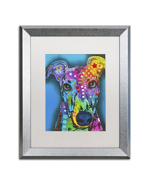 "Trademark Global Dean Russo 'What Ya Thinking Bout?' Matted Framed Art - 20"" x 16"" x 0.5"""