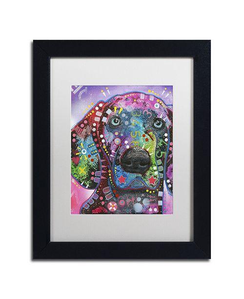 "Trademark Global Dean Russo 'Purple Excitement' Matted Framed Art - 11"" x 14"" x 0.5"""