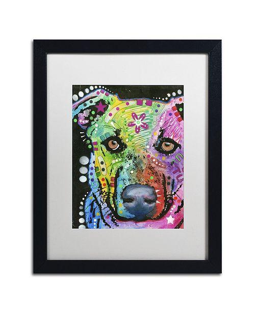 """Trademark Global Dean Russo '09' Matted Framed Art - 16"""" x 20"""" x 0.5"""""""