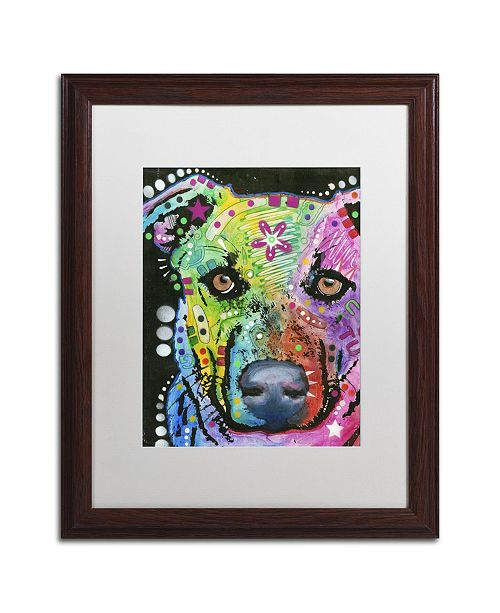 """Trademark Global Dean Russo '09' Matted Framed Art - 20"""" x 16"""" x 0.5"""""""