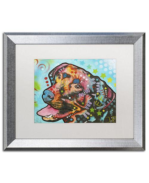"""Trademark Global Dean Russo '20' Matted Framed Art - 20"""" x 16"""" x 0.5"""""""