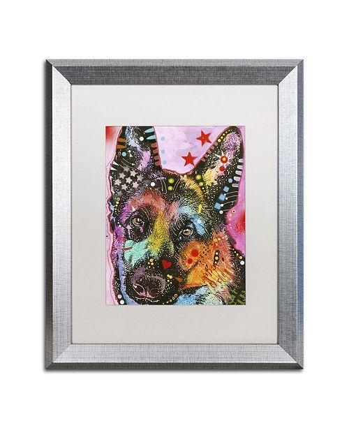 """Trademark Global Dean Russo '25' Matted Framed Art - 20"""" x 16"""" x 0.5"""""""