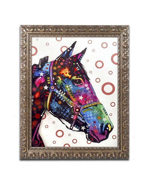 "Trademark Global Dean Russo 'Horse' Ornate Framed Art - 20"" x 16"" x 0.5"""