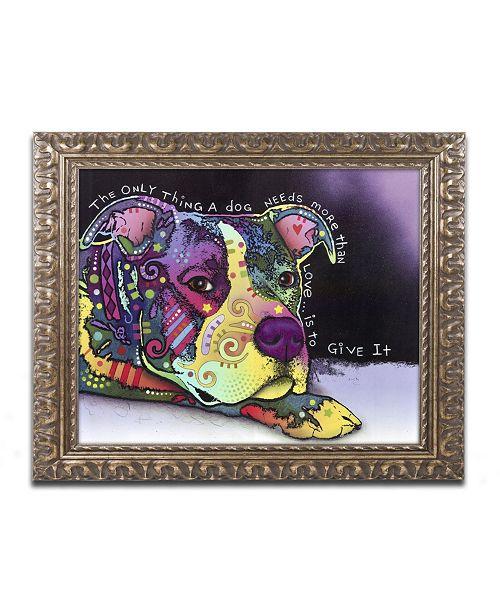 "Trademark Global Dean Russo 'Affection' Ornate Framed Art - 20"" x 16"" x 0.5"""