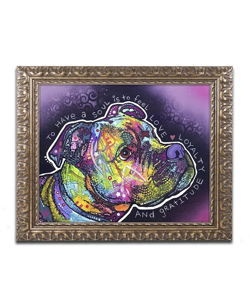 "Trademark Global Dean Russo 'Soul' Ornate Framed Art - 20"" x 16"" x 0.5"""