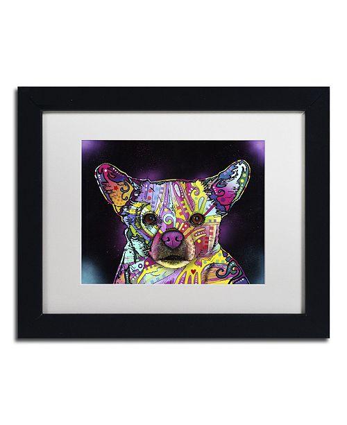 """Trademark Global Dean Russo 'Cheemix' Matted Framed Art - 11"""" x 14"""" x 0.5"""""""