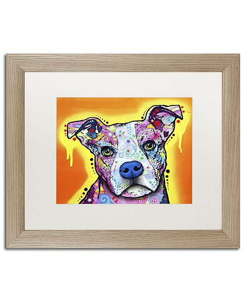 "Trademark Global Dean Russo 'A Serious Pit' Matted Framed Art - 20"" x 16"" x 0.5"""