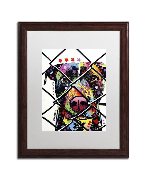 "Trademark Global Dean Russo 'Choose Adoption' Matted Framed Art - 20"" x 16"" x 0.5"""