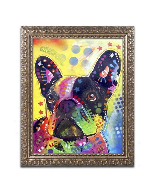 "Trademark Global Dean Russo 'French Bulldog 2' Ornate Framed Art - 20"" x 16"" x 0.5"""