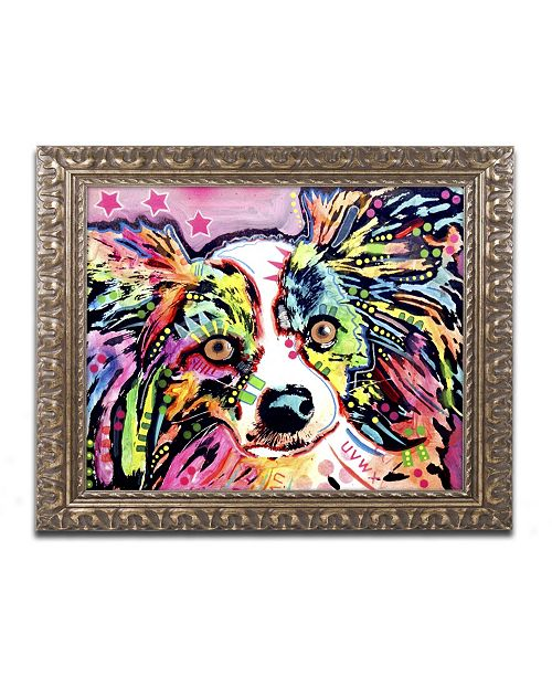 "Trademark Global Dean Russo 'Papillon 9149' Ornate Framed Art - 20"" x 16"" x 0.5"""