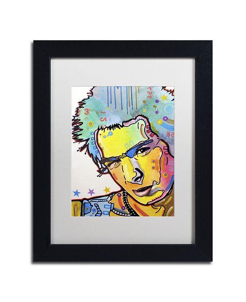 "Trademark Global Dean Russo 'Sid' Matted Framed Art - 11"" x 14"" x 0.5"""