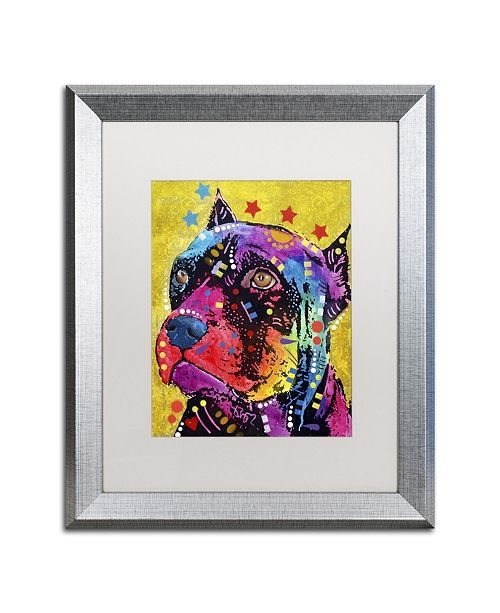 "Trademark Global Dean Russo 'Bri 1' Matted Framed Art - 20"" x 16"" x 0.5"""