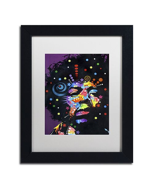 "Trademark Global Dean Russo 'Jimi' Matted Framed Art - 11"" x 14"" x 0.5"""