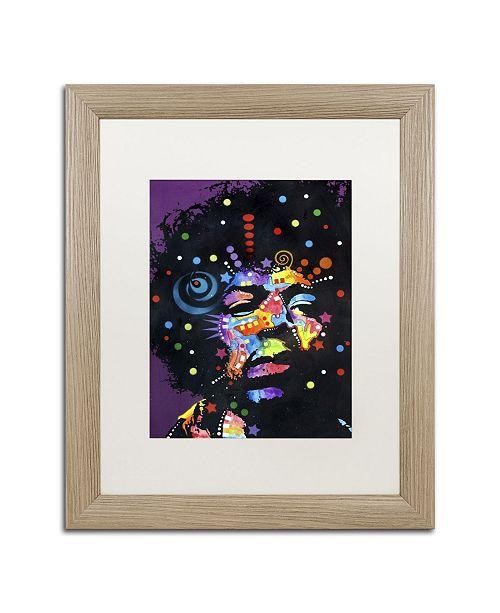 "Trademark Global Dean Russo 'Jimi' Matted Framed Art - 20"" x 16"" x 0.5"""
