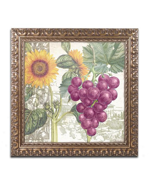 "Trademark Global Color Bakery 'Dolcetto II' Ornate Framed Art - 11"" x 0.5"" x 11"""