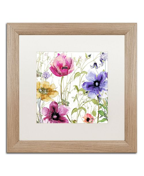 "Trademark Global Color Bakery 'Summer Diary I' Matted Framed Art - 16"" x 0.5"" x 16"""