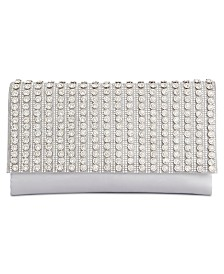 I.N.C. Veronica Flower Sparkle Clutch, Created for Macy's