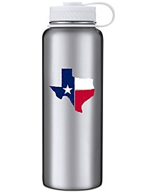 40oz Stainless Steel Texas Water Bottle