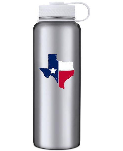 Cambridge Thirstystone 40oz Stainless Steel Texas Water Bottle