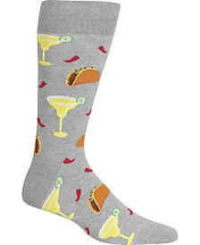 Hot Sox Men's Socks, Tacos