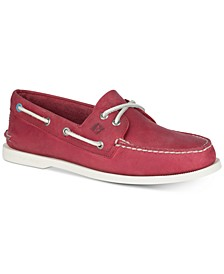 Men's A/O 2-Eye Leather Boat Shoes