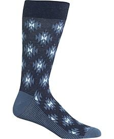 Men's Socks, Ikat