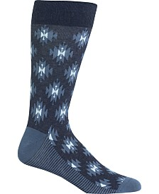 Hot Sox Men's Socks, Ikat