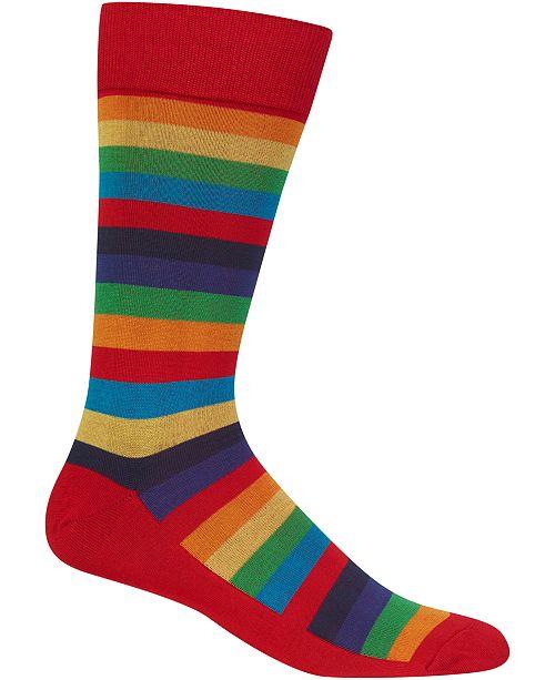 Hot Sox Men's Socks, Fun Stripe